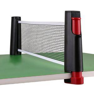 TABLE TENNIS DE TABLE filet de tennis de table rétractable portatif, fil