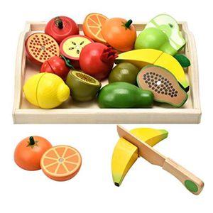 DOCTEUR - VÉTÉRINAIRE Docteur Jouets en bois d'imitation nourriture pour