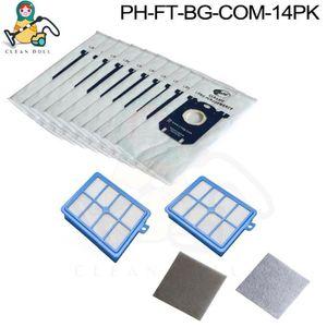 5x Sac-filtre tissus pour aspirateur Bosch GAS 25