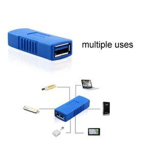 CÂBLE INFORMATIQUE USB 3.0 Type A Femelle vers femelle Adaptateur Cou