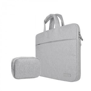 SACOCHE INFORMATIQUE Version Gris avec Petit bag - 13 inch -