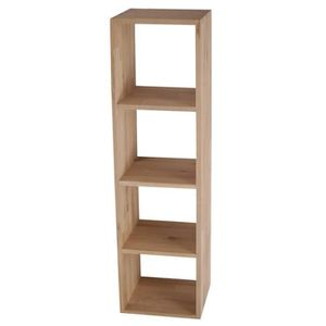 Meuble etagere de largeur 25 cm achat vente meuble for Meuble 4 cases but