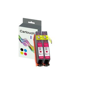CARTOUCHE IMPRIMANTE Cartouch'Ink 364XL Pack Remplacement 2 Cartouches