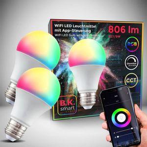 Lunettes connectées Lot de 2 ampoules connectées LED choix de couleurs