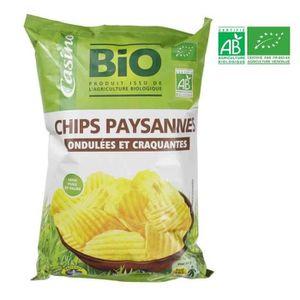 CHIPS ALTHO Chips ondulées paysannes BIO - 125 g