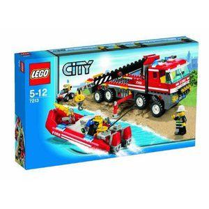 ASSEMBLAGE CONSTRUCTION Lego Lego City - Le Camion + Bateau des Pompiers