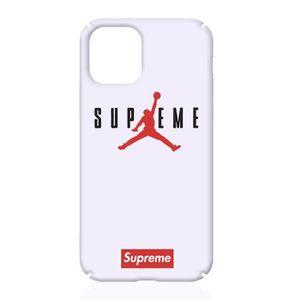 COQUE - BUMPER Coque Apple iPhone 11,Supreme Air Jordan Blanc Coq