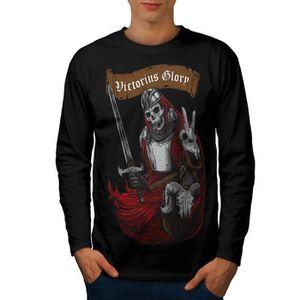 L/'astronaute Guitare Espace Hommes T-shirt à manches longues Nouveauwellcoda