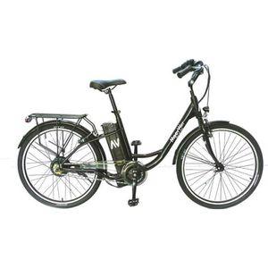 VÉLO ASSISTANCE ÉLEC MOOVWAY Vélo à assistance électrique - Noir - Sola