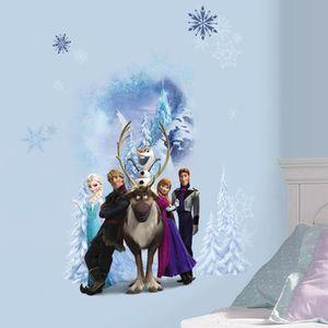 STICKERS Stickers Personnages La Reine des Neiges Disney Fr