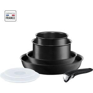 BATTERIE DE CUISINE Ingenio Performance Noir Batterie de cuisine 7 Piè