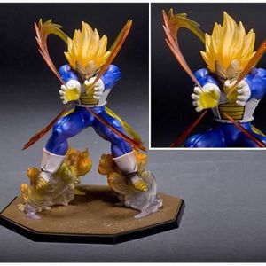 FIGURINE - PERSONNAGE Action Figurine Dragon Ball Z Vegeta Super Saiyan