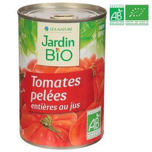 TOMATE JARDIN BIO Tomates pelées bio - 400g