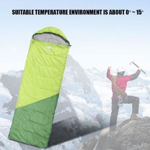 SAC DE COUCHAGE Sac de couchage Camping Voyage Duvet chaud en plei