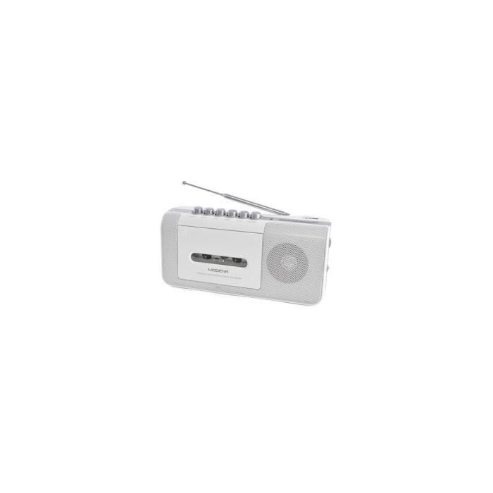 Lloytron Modena Enregistreur Radio Cassette Portable avec 2 Bandes