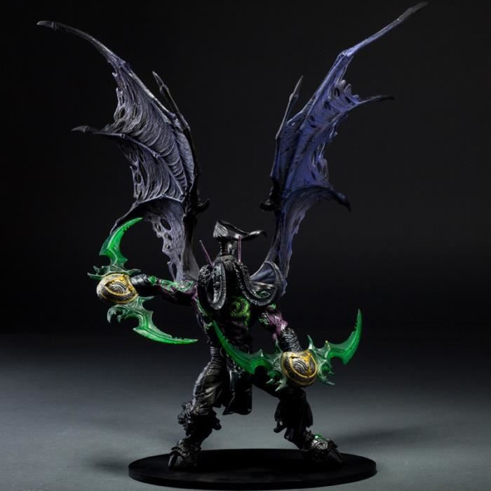 Jeu Wow Demon Hunter illidan Stormrage PVC Action Figure Jouets