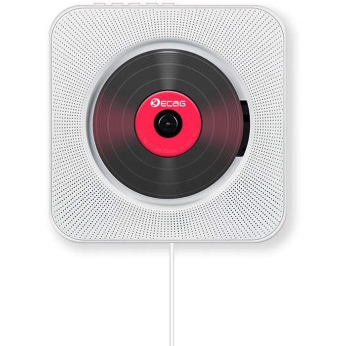 Player CD portable avec Bluetooth, lecteur CD de musique, lecteur audio en anglais, FM avec télécommande FM, radio FM, radio USB413