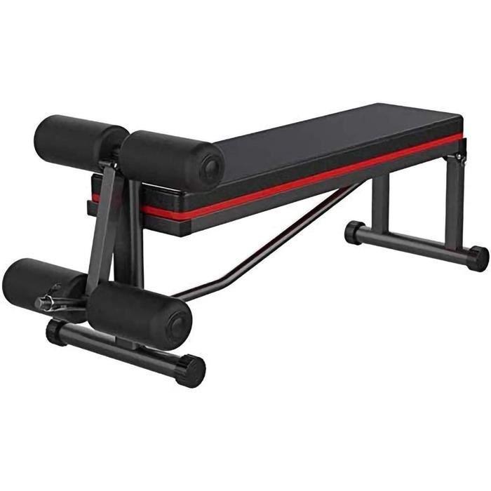 BANC DE MUSCULATION Multifonctionnel Banc de MusculationBanc HaltegravereAccueil SitUps Fitness EquipmentPliant Presse Banc Chai220