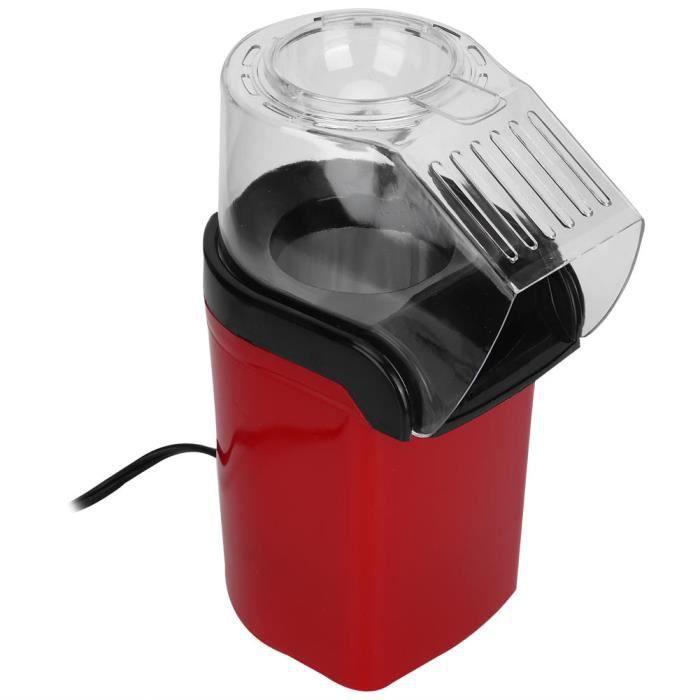 Qiilu Popcorn Popper Mini Popcorn Maker Popper Fast Hot Ménage Machine automatique de fabricant de pop-corn électrique (prise EU
