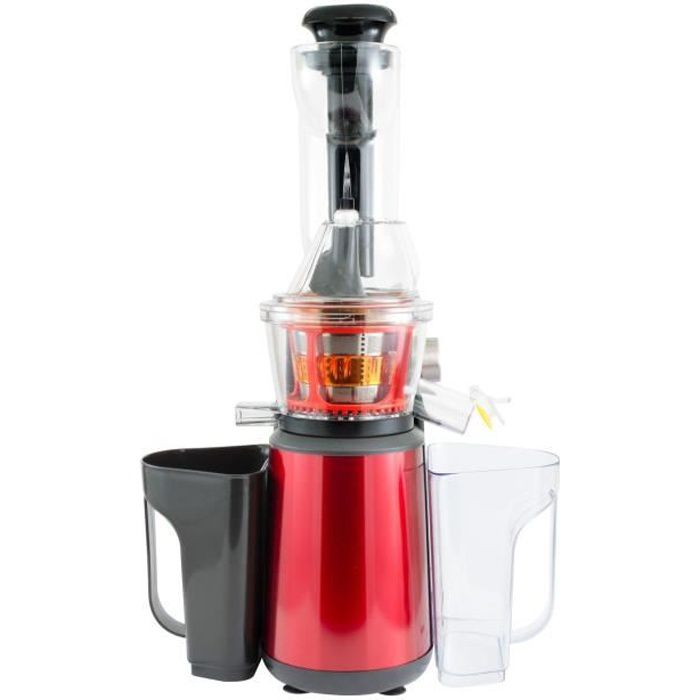 KITCHENCOOK - ELIXIR_MP_RED - Extracteur à jus pression Douce - Rouge