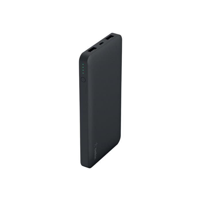 BELKIN Batterie externe - 10 000 mAh - Noir
