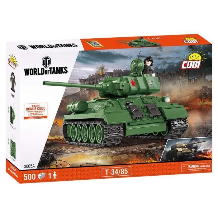 COBI WORLD OF TANKS - 3005 - T-34/85