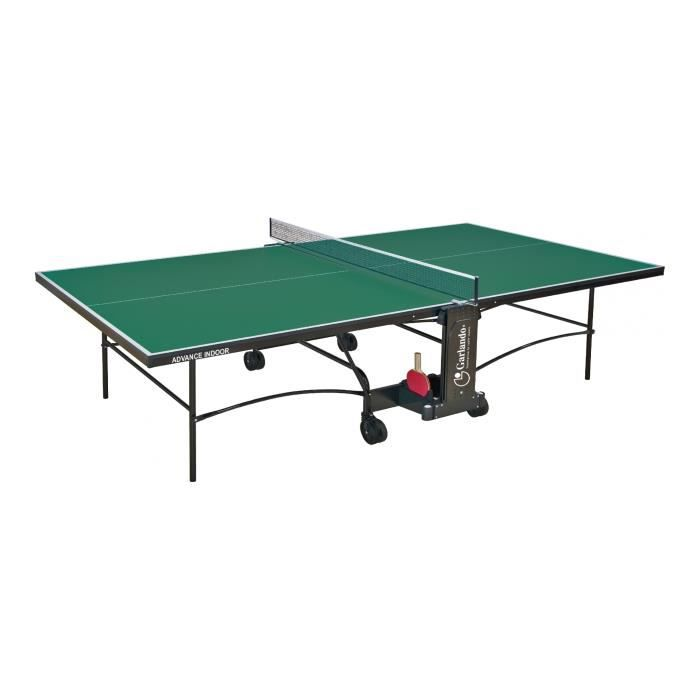 GARLANDO - Advance intérieur - table de tennis - Vert - réf C-276I