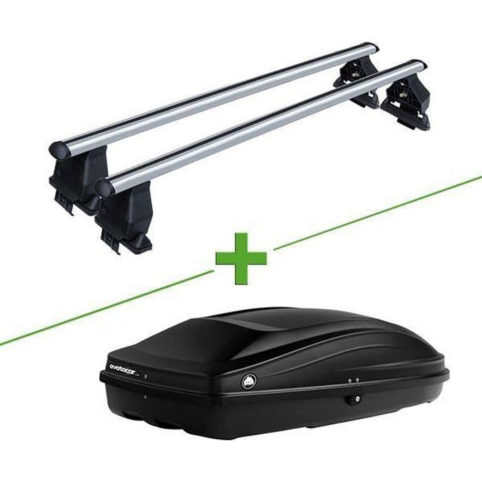 Pack barres et coffre de toit MBO Tema alu + Wabb S pour Mini Mini 3 portes - 3664634354631