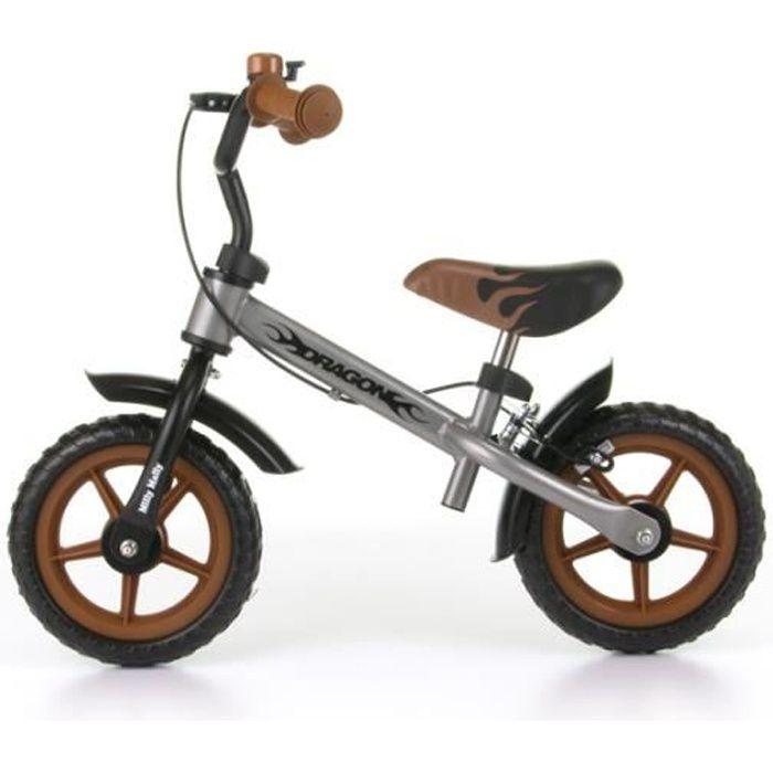 Vélo / Draisienne avec frein pour enfant 2-4 ans Dragon - Classic. 10