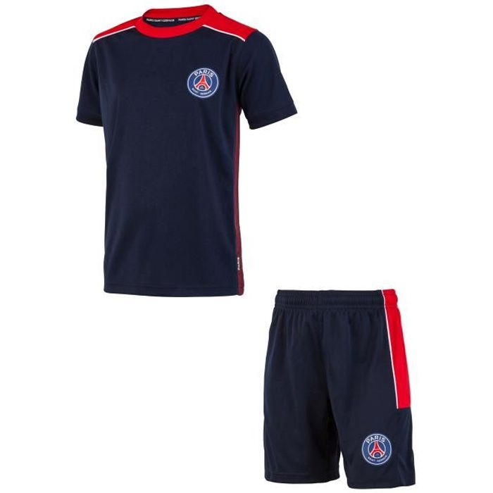 Maillot + short de football PSG - Collection officielle PARIS SAINT GERMAIN - Enfant