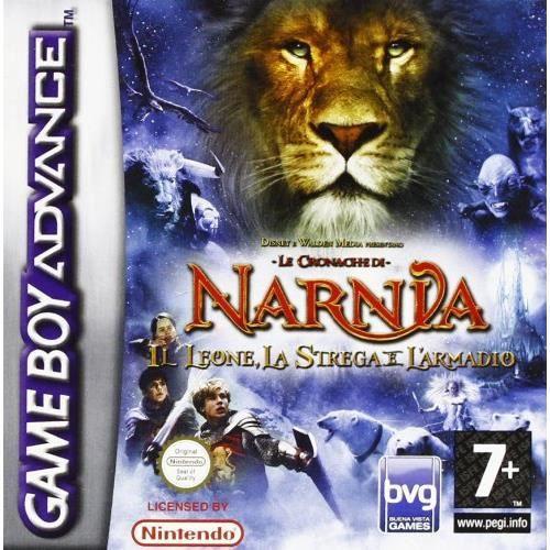 nintendo game boy advance, le monde de narnia