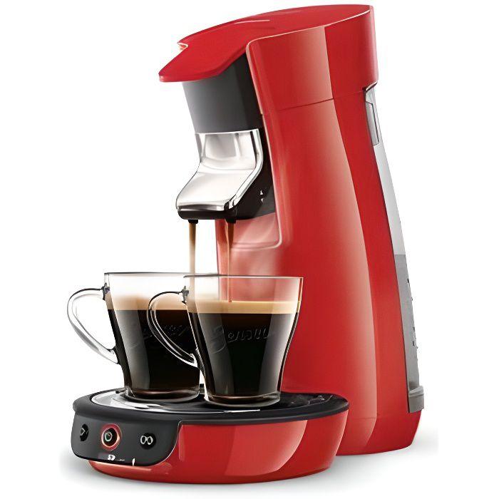 Philips HD7829/83 - EPICERIE - DOSETTES - Cafetière à dosette ou capsule SENSEO VIVA CAFE ROUGE