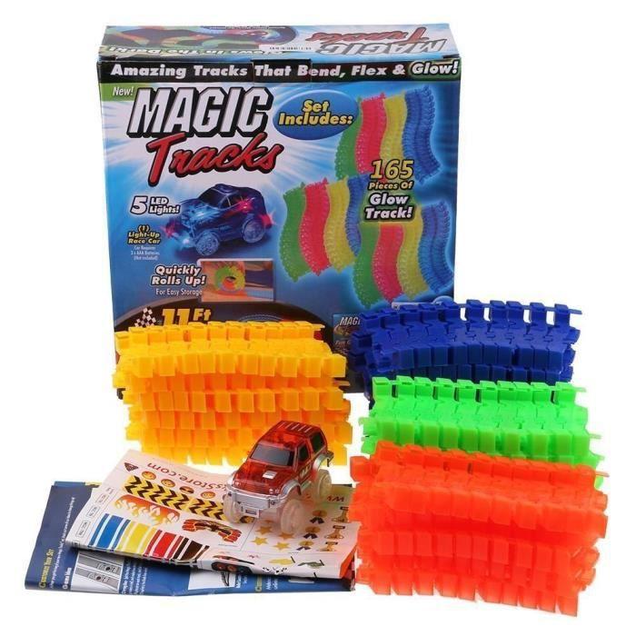 MAGIC TRACKS Le circuit incroyablement amusant, modulable et brillant dans le noir - Vu à la Télé