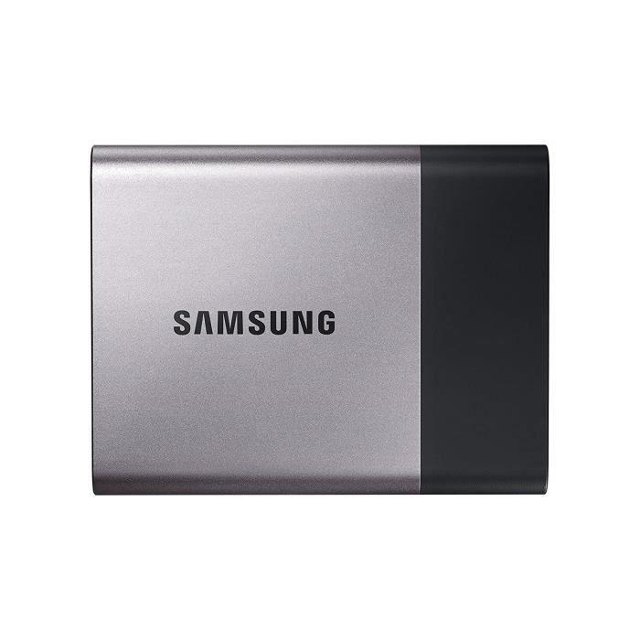 DISQUE DUR EXTERNE Samsung MU-PT2T0B-EU Disque Flash SSD externe 2 To