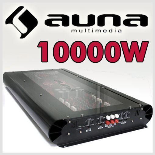 Amplificador coche Auna W1-F-10000 6 canales 10000W.