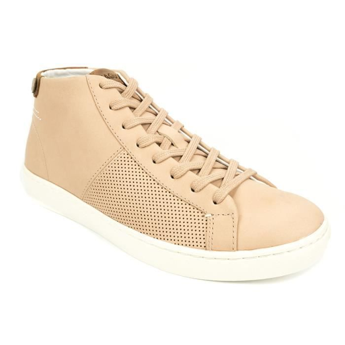 Faguo Aspen Leather, Baskets Mode Femme (39)