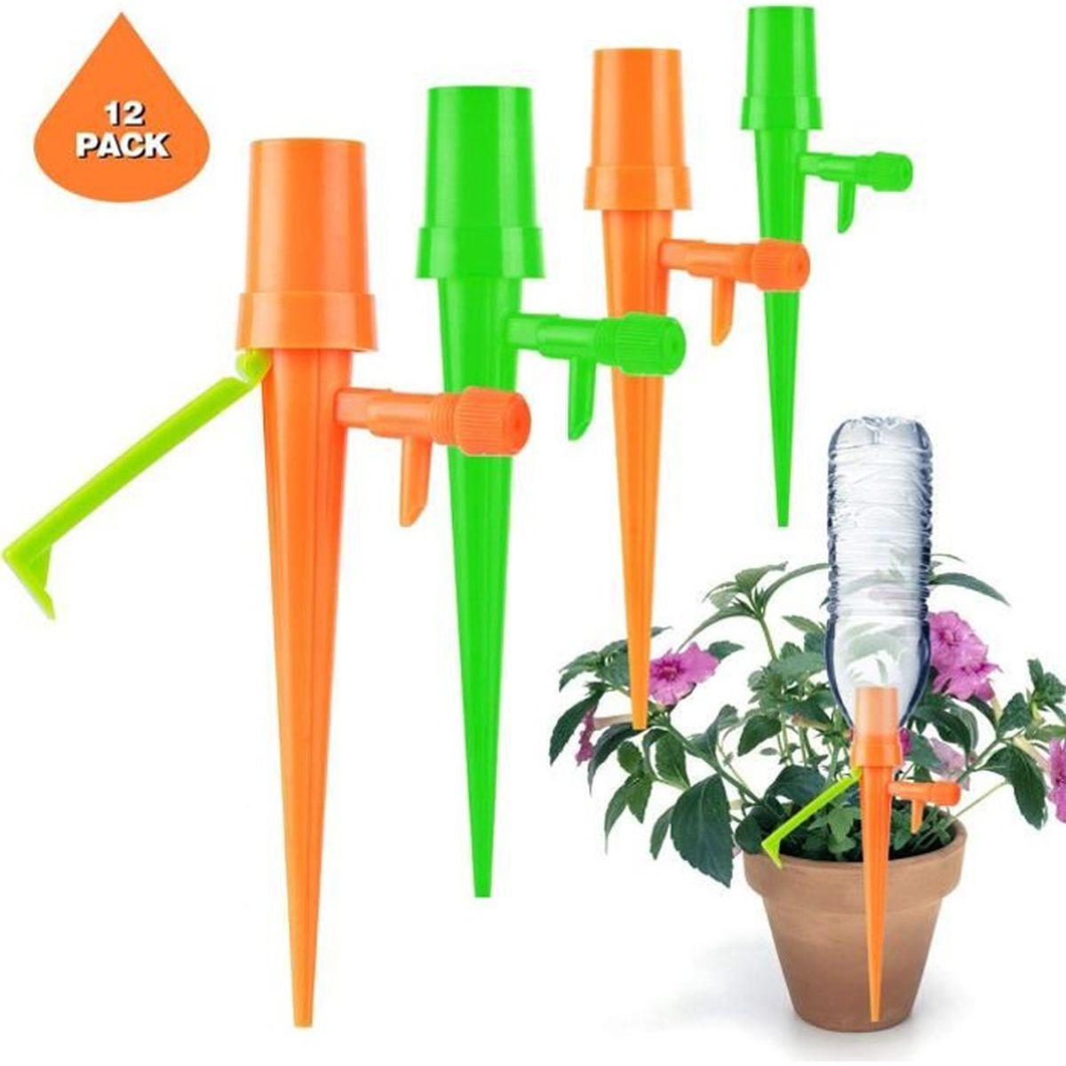 Arrosage Automatique Goutte À Goutte Avec Bouteille Plastique 12pcs arrosage plantes automatique diy, système d'irrigation