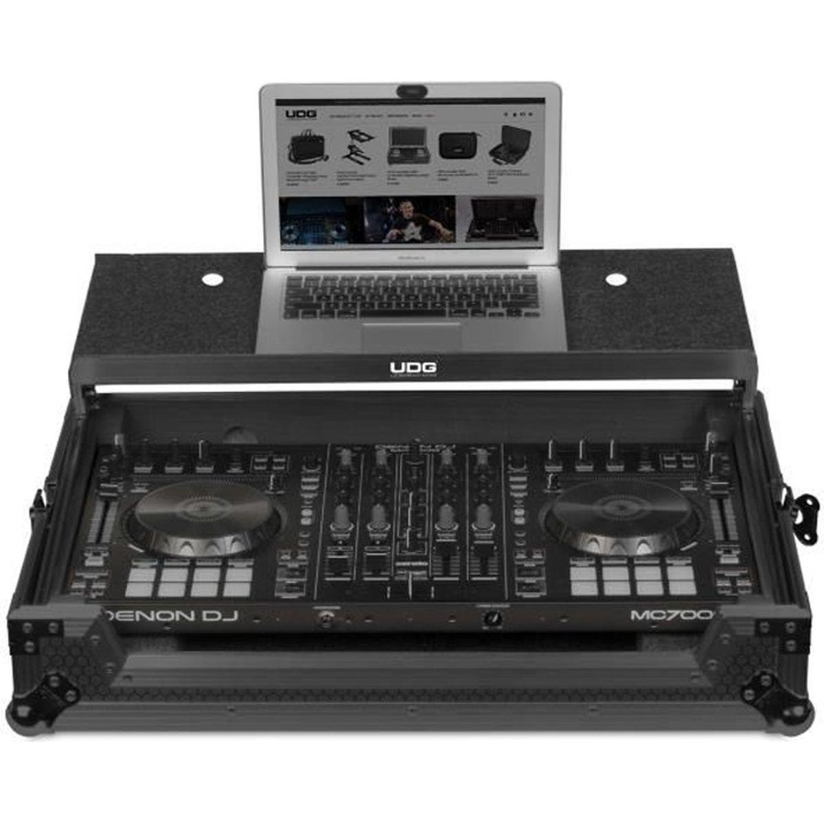 RACK UDG - U 91038 BL2 - Flight case Denon DJ MC7000 MK