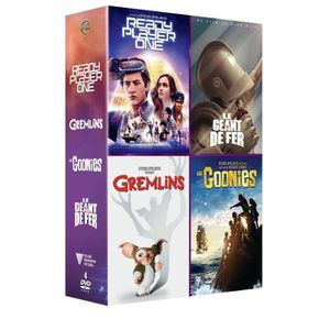 DVD SÉRIE Coffret DVD Amblin 4 films : Ready player one, Les