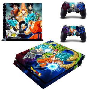 STICKER - SKIN CONSOLE Aihontai Anime Dragon Ball Super Son Goku & Vegeta
