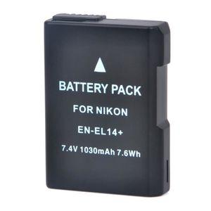 BATTERIE APPAREIL PHOTO EN-EL14  Nouveau 1030mAh  7.4 V  batterie pour Nik