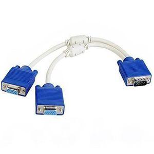 Rhinocables C/âble VGA Extension moniteur dordinateur C/âble /à 15/broches m/âle vers femelle SVGA Extension /écran Diff/érentes longueurs disponibles 10 m