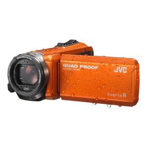 CAMÉSCOPE NUMÉRIQUE JVC GZ-R405DEU Caméscope - Etanche - Orange
