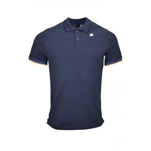 POLO Polo K-Way Vincent bleu marine pour homme - Taille