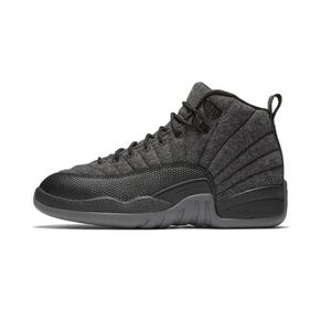 BASKET Chaussures Nike Air Jordan 12 Retro Wool BG ...