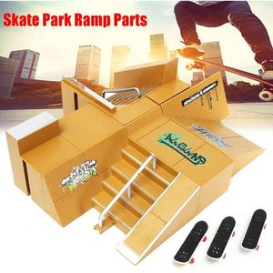 FINGER SKATE - BIKE  Skate Parc Rampe + 3x Finger Doigt Skateboard Plan