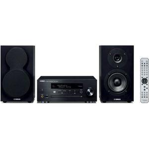 CHAINE HI-FI YAMAHA MCR-N470D Noir - Mini-Chaîne CD MP3 USB - W
