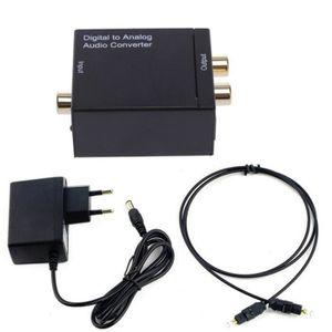 REPARTITEUR TV Convertisseur Audio numérique vers analogique,Conv