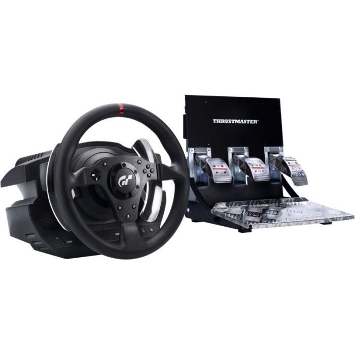 thrustmaster volant t500rs gran turismo 5 ps3 ps4 pc achat vente joystick manette. Black Bedroom Furniture Sets. Home Design Ideas