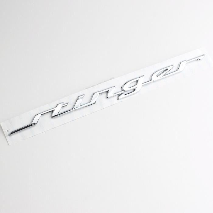 Autocollant de décoration en forme de lettre, 35.5CM, pour KIA Stinger, Logo GT 2018 2.0T, Badge de coffre arrière de [6B6D7A4]
